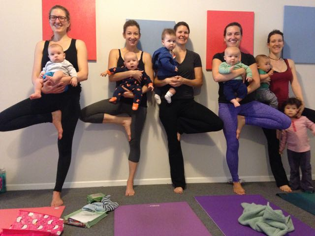 Baby & Me Yoga Family Room